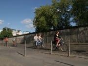 Germany, Berlin, Berlin Wall Bike Tour
