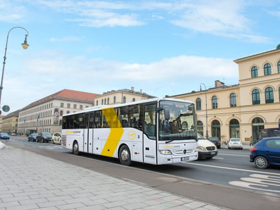Munich shuttle bus transfer