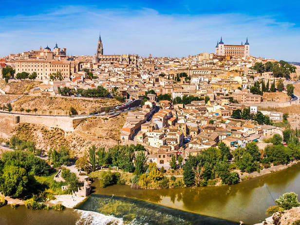 Toledo and Segovia One Day Tour from Madrid with Alczar of Segovia