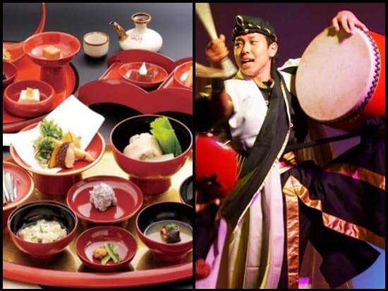 traditional okinawan dinner show at yotsutake in naha okinawa main