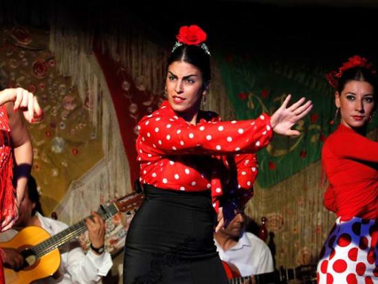 Spain, Madrid, Cafe de Chinitas Flamenco Show