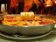 Spain, Madrid, Cafe de Chinitas Paella Dinner