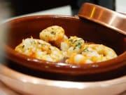 Spain, Madrid, Cafe de Chinitas, Gambas