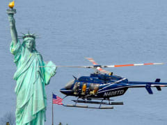 helicopter tour USA statue of liberty