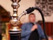 Aromatic shisha pipes are available for use onsite