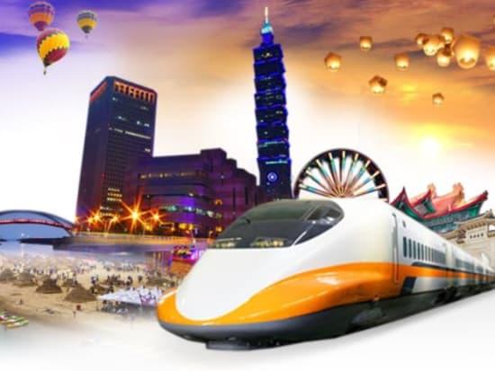 Taiwan High Speed Rail 3-Day Unlimited Pass or 2-Day Flexi