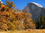 秋のヨセミテ_ハーフドーム