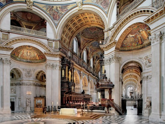 St Paul's Cathedral Internal