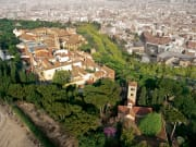 Bird's-eye view of Poble Espanyol