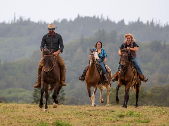 Hawaii_Oahu_Gunstock Ranch_Daytime Ride