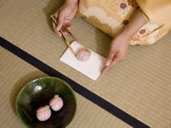 Tea ceremony sweets cropped