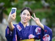 Yukata dress up cropped