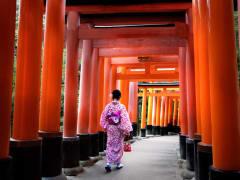Fushimi Inari Visitor cropped