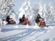Finland_Rovaniemi_Lapland-Safaris_Snowmobiles