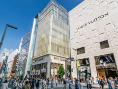 Ginza Shopping cropped