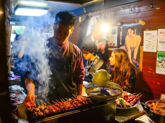 Tokyo Food Walking Tour In Shimbashi With English Speaking Guide