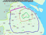上海A20外環状線範囲図(イメージ)