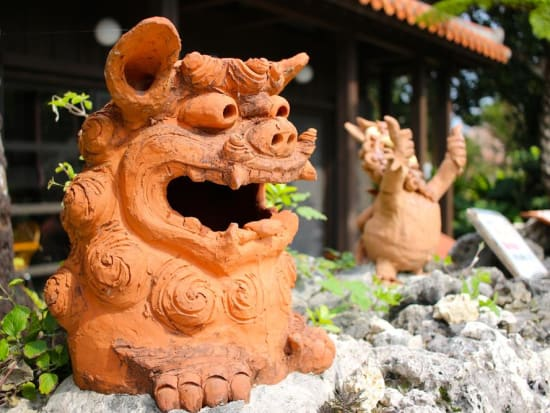 Shisa statue cropped