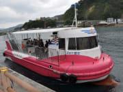 水中観光船せと 半潜水船でサン...