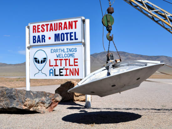 Area 51 Extraterrestrial and Aliens Guided Sightseeing Tour from Las Vegas  Instant Confirmation