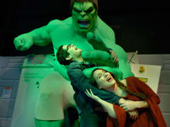 USA_New York_Madame Tussauds_Hulk wax figure