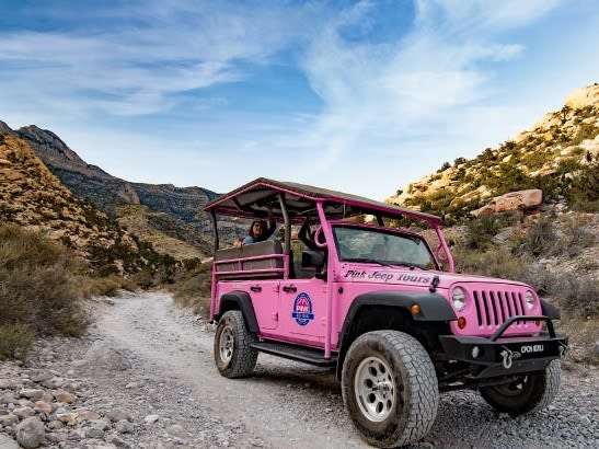 See Another Side Of Las Vegas On This Outback Sightseeing Tour Aboard A  Pink Jeep Wrangler! Take A Look At The Exhibits At The Visitor Center And  Pass Along ...