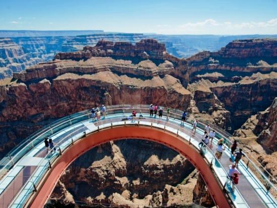 Grand Canyon National Park West Rim Eagle Point Tour Las