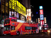 USA_New York_Night bus Tour times square