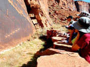 Discover the ancient petroglyphs