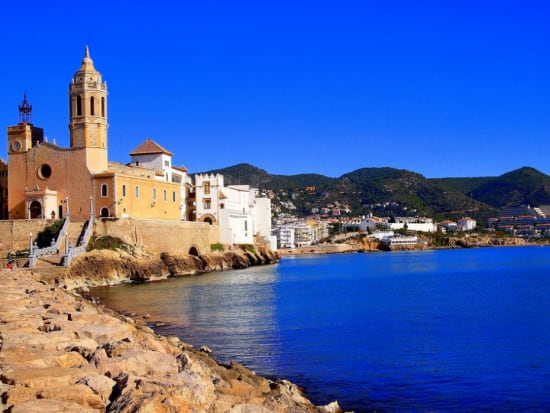 town of Sitges