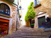Spain, Girona, Medieval-style structures