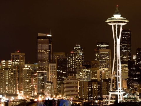 シアトル市内観光ツアー