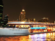 Evening Dinner Cruise With White Orchid