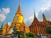 The golden Wat Phra Kaew