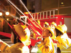 KidZania Firefighterrs