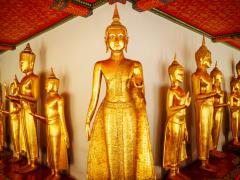 Golden Buddhas of Wat Pho
