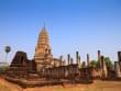 Sukhothai ruin at Wat Phra Sri Rattana Mahathat