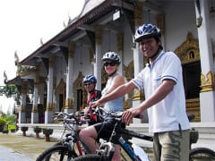 thailand chiang mai half day bike tour