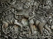 thailand chiang mai elephant carvings