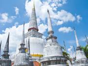 bangkok Wat Phra Mahathat ayutthaya bike tour
