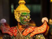 Traditional Thai masked dance