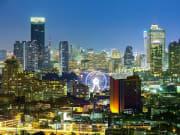 View of Bangkok at night