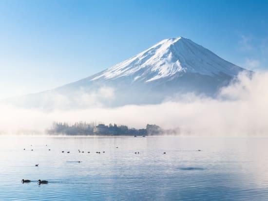 Mt Fuji Lake Kawaguchi