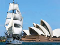 Sidney Harbour Cruise_lunch