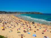 Bondi Beach filled with people Australia