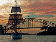 sunset dinner cruise sydney harbour australia