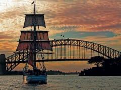sunset dinner cruise sydney harbour australia
