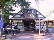 Find quaint shops and and vintage restaurants