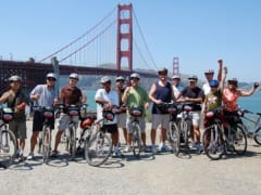 USA_San Francisco_Bike Rental_Group Tour