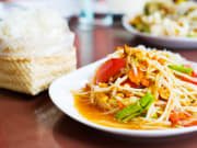 Indulge in an authentic Thai dinner